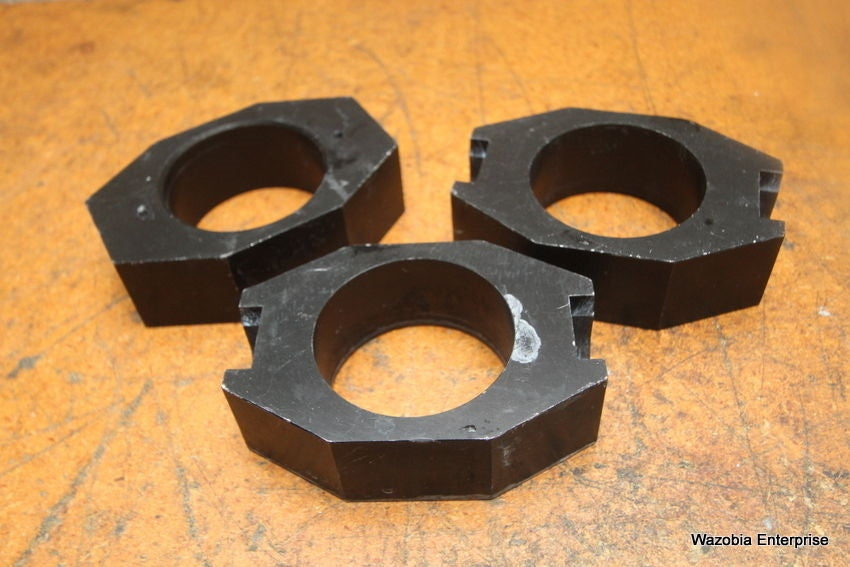 LOT OF 3 CENTRIFUGE SWING ROTOR BUCKET COLLAR RING INSERT