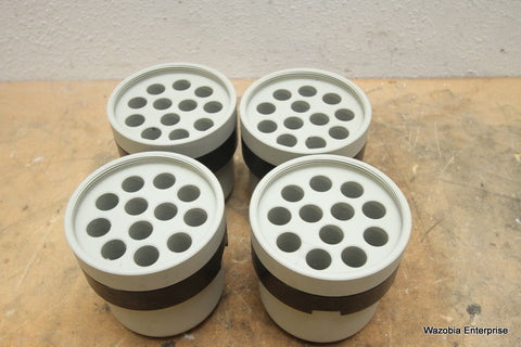 LOT OF 4  LABNET CENTRIFUGE ROTOR BUCKET ADAPTER 25 ML