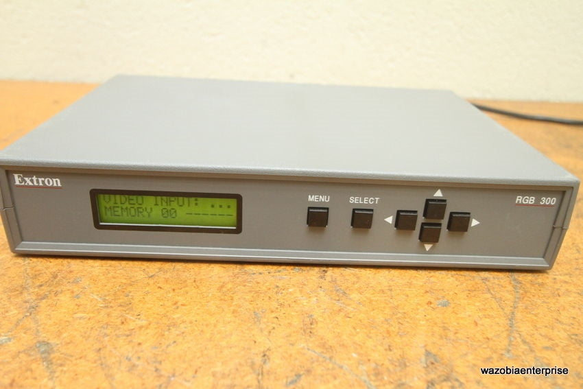 EXTRON RGB 300 INTERFACE
