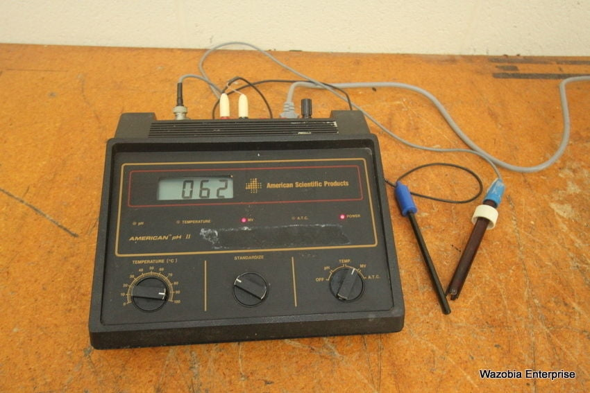 AMERICAN SCIENTIFIC PRODUCTS PH II METER