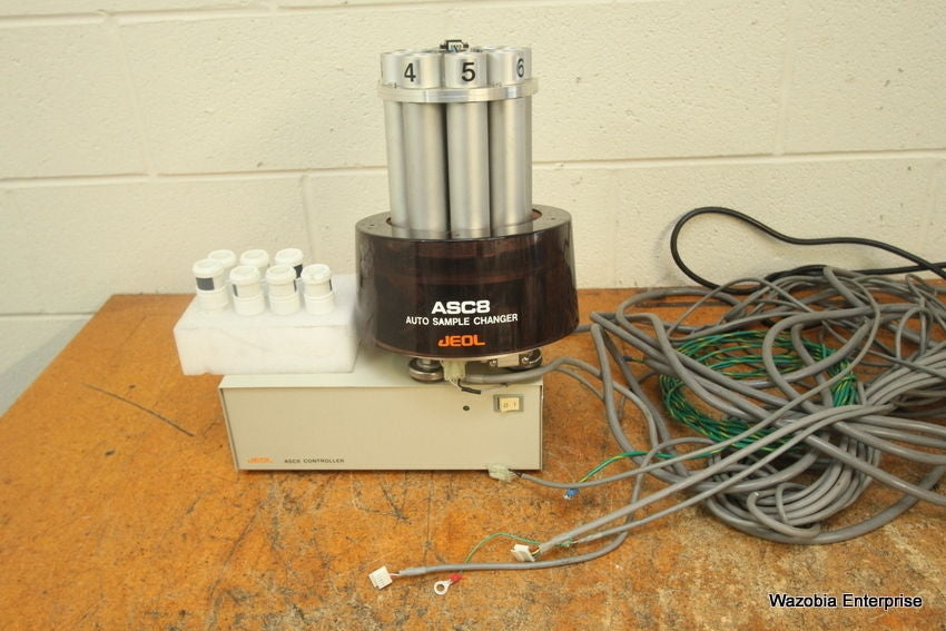 JEOL USA ASC8 ASC 8 AUTO SAMPLE CHANGER AND CONTROLLER NM-ASC8  FOR SPECTROMETER
