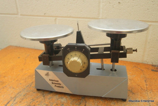 ASP AMERICAN SCIENTIFIC PRODUCTS LABORATORY ANALYTICAL SCALE BALANCE