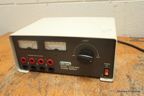 BIO-RAD MODEL 2000/200 ELECTROPHORESIS POWER SUPPLY