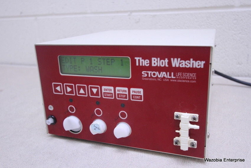 STOVALL LIFE SCIENCE THE BLOT WASHER MODEL BLWAA115S