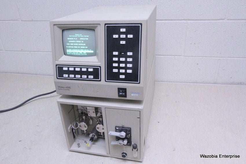 WATERS 600E SYSTEM CONTROLLER & 600 MULTISOLVENT DELIVERY SYSTEM FLUID UNIT HPLC