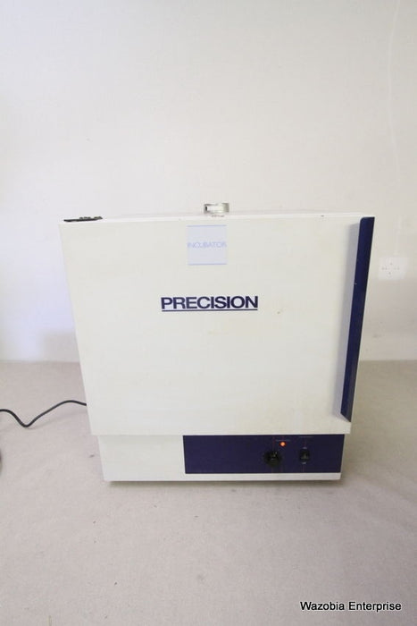 PRECISION SCIENTIFIC INCUBATOR OVEN MODEL 3EG 51221087