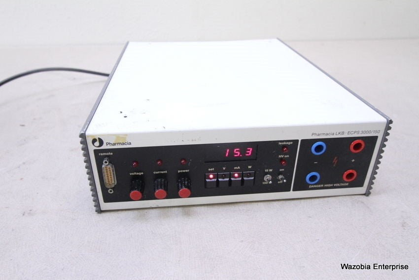 PHARMACIA LKB ECPS 3000/150 ELECTROPHORESIS POWER SUPPLY