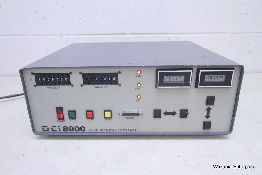 DESIGN COMPONENTS DCI 8000 POSITIONING CONTROL DCT-8000-2M
