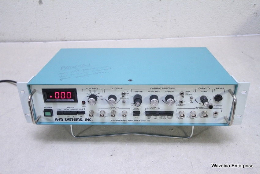 A-M SYSTEMS NEUROPROBE AMPLIFIER MODEL 1600