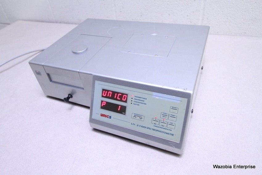 UNICO UV-2100 SPECTROPHOTOMETER 325-1000 NM