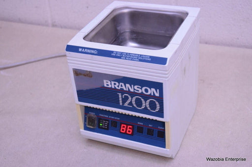 BRANSON BRANSONIC 1200 ULTRASONIC CLEANER WATER BATH