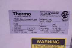 THERMO ELECTRON 5522 MICROCENTRIFUGE REFRIGERATING CENTRIFUGE WITH 851 ROTOR