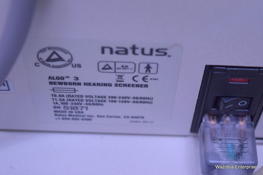 NATUS ALGO 3 NEWBORN HEARING SCREENER