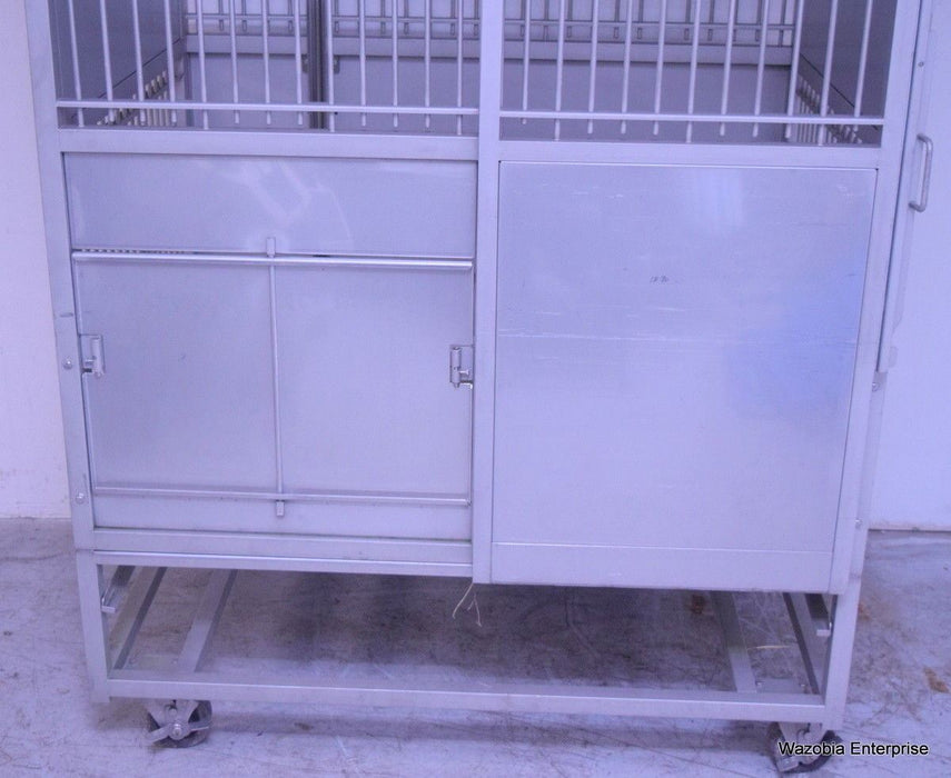 PE&F81951  STAINLESS STEEL ANIMAL CAGE