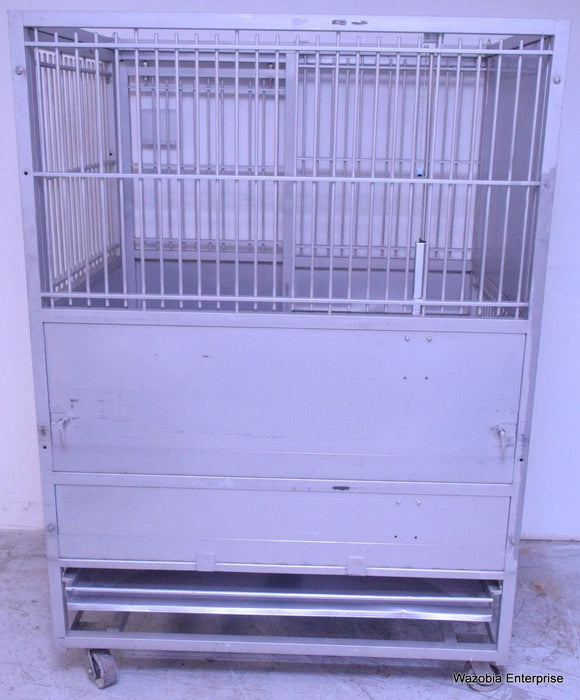 PE&F81976  STAINLESS STEEL ANIMAL CAGE