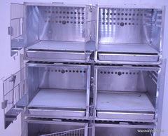 STAINLESS STEEL ANIMAL CAGE
