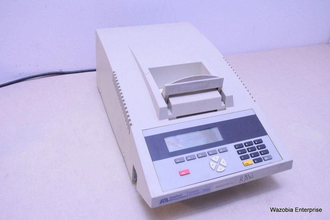 AB APPLIED BIOSYSTEM GENEAMP PCR SYSTEM 2400