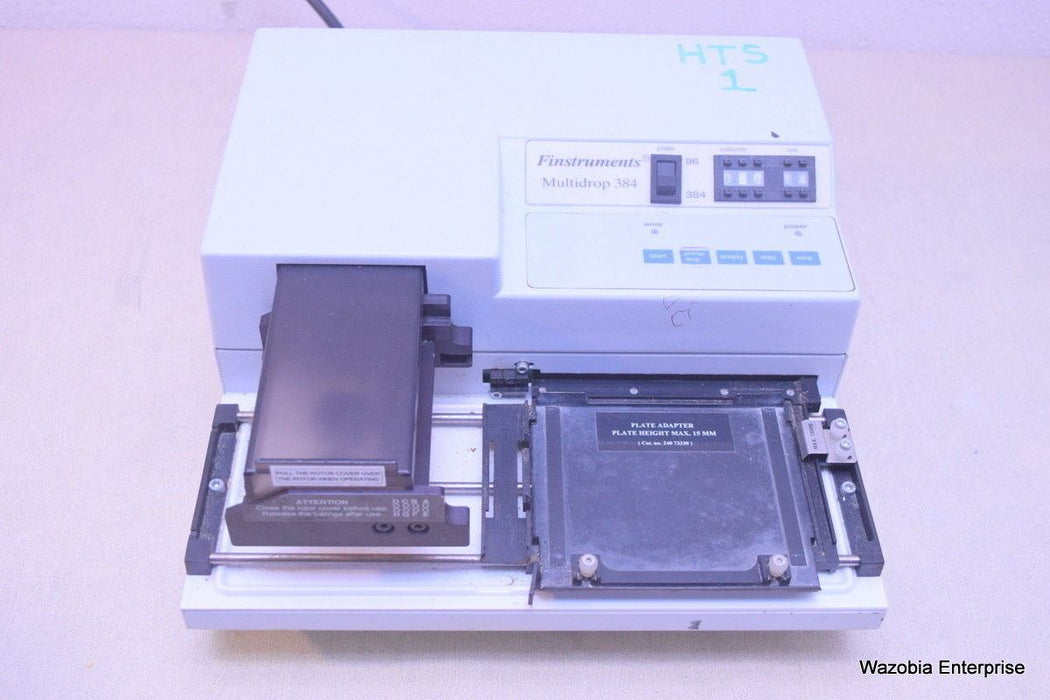 FINSTRUMENTS MULTIDROP 384 PLATE DISPENSER MICROPLATE DISPENSER