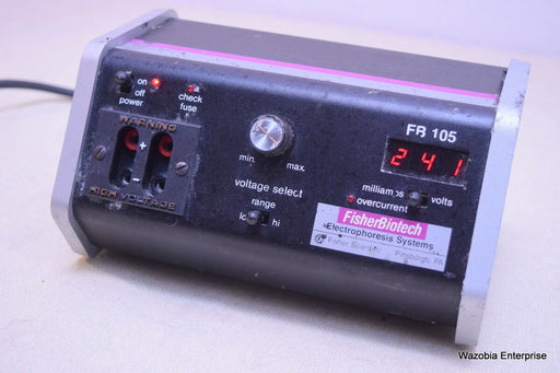 FISHER SCIENTIFIC/ BIOTECH ELECTROPHORESIS SYSTEM MODEL FB 105 POWER SUPPLY