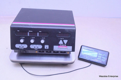 FISHER BIOTECH MODEL FB 600-90 ELECTROPHORESIS SYSTEMS POWER SUPPLY