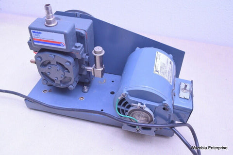WELCH 1400 DUOSEAL VACUUM PUMP MODEL 1400B-01