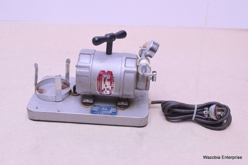 SKLAR COMPRESSOR UNIT MODEL 100-65 W/ LELAND MOTOR