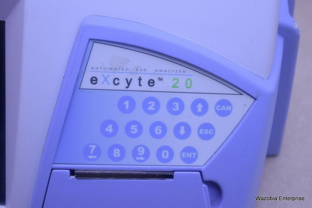 ELECTA LAB EXCYTE 20 AUTOMATED ESR ANALYZER TEMP COMPENSATION