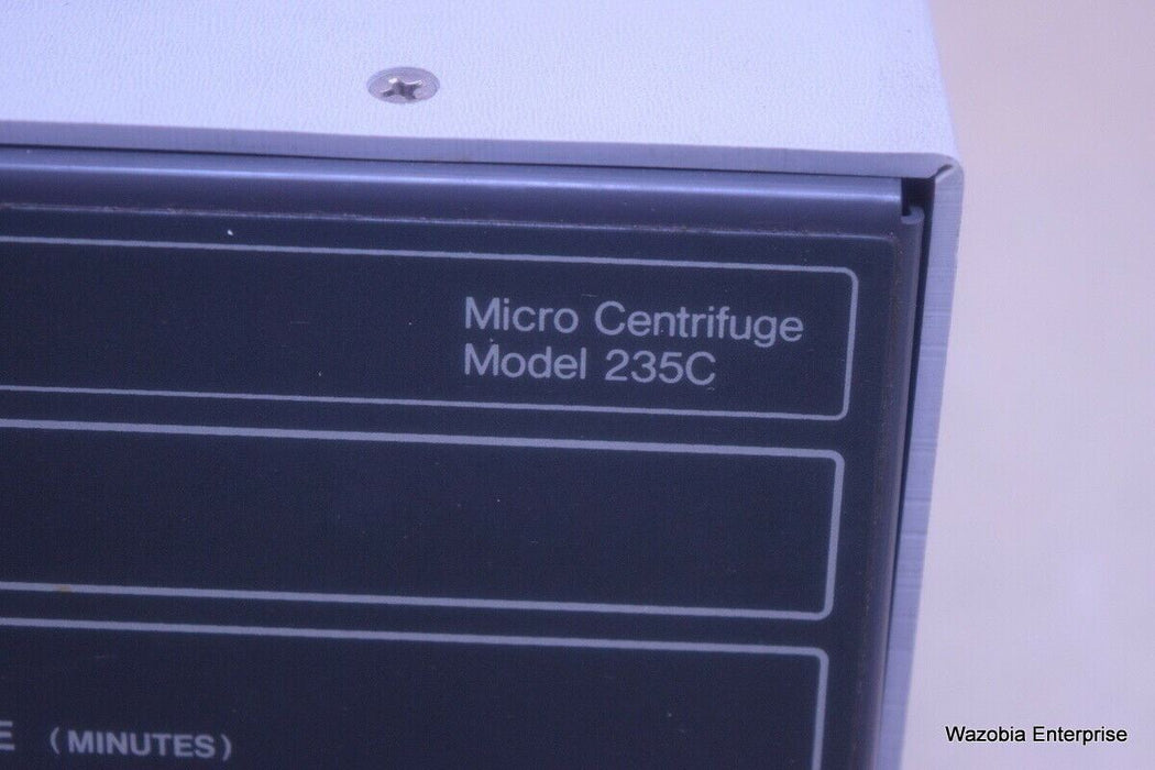 FISHER SCIENTIFIC MICROCENTRIFUGE MODEL 235C ROTOR 4-978-241F