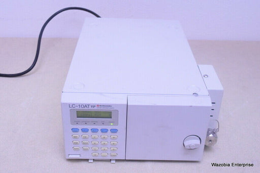 SHIMADZU PUMP LC-10AT VP LIQUID CHROMATOGRAPHY HPLC PUMP
