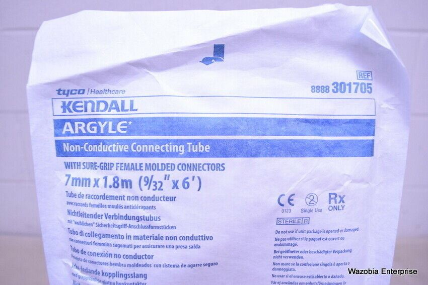 4 TYCO KENDALL ARGYLE NON CONDUCTIVE CONNECTING TUBE 7MMX1.8M  301705