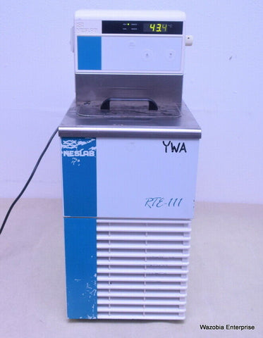 NESLAB MODEL RTE-111 HEATING AND RECIRCULATING WATER BATH