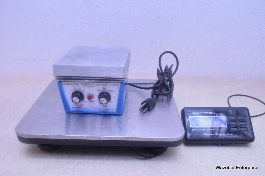 COLE & PALMER MAGNETIC STIRRER WITH HOT PLATE MODEL 700-5011