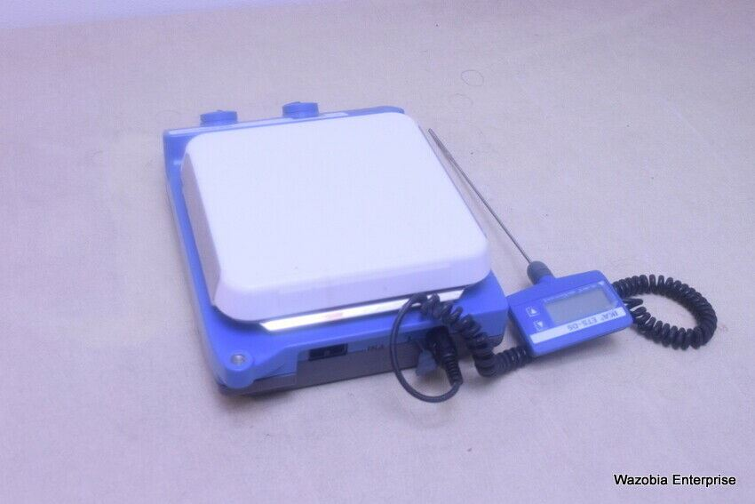 IKA C-MAG HS 7 DIGITAL HOT PLATE MAGNETIC STIRRER WITH TEMP CONTROLLER