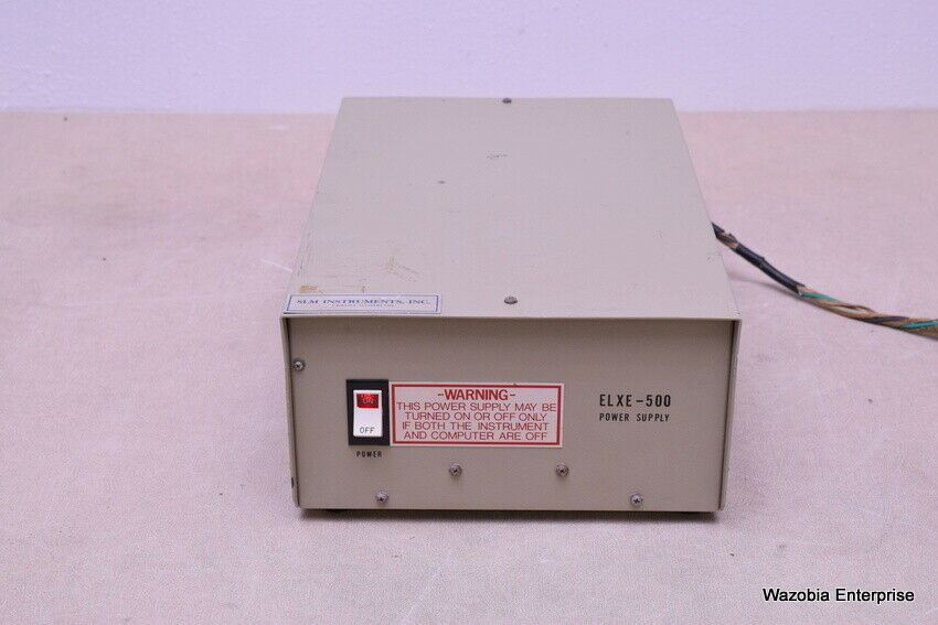 ELXE-500 POWER SUPPLY