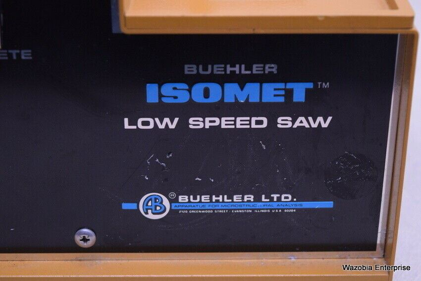BUEHLER ISOMET LOW SPEED SAW