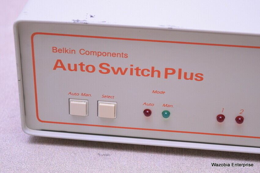 BELKIN COMPONENTS AUTO SWITCH PLUS