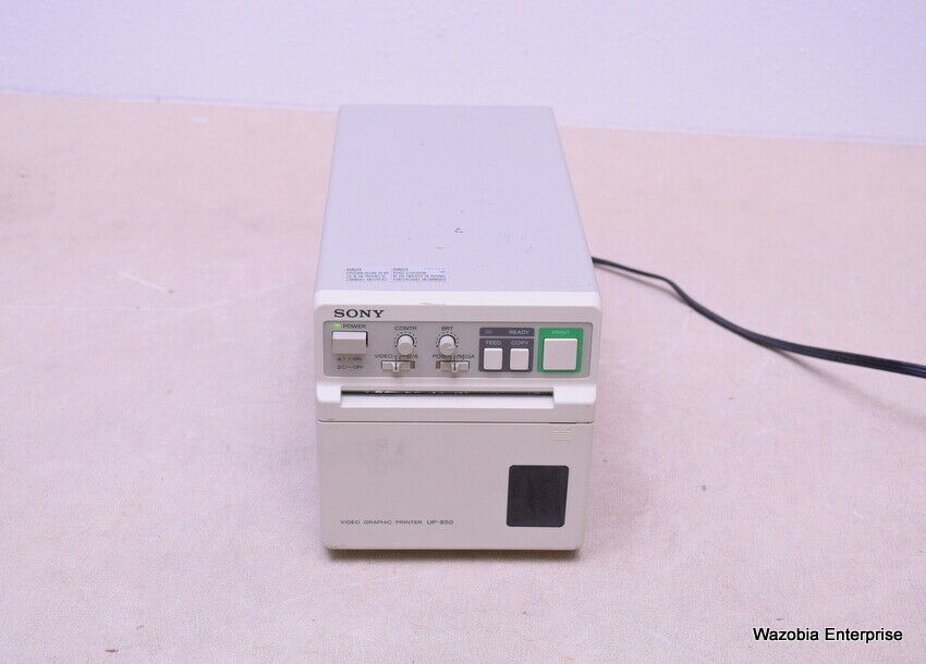 SONY VIDEO GRAPHIC PRINTER UP-850