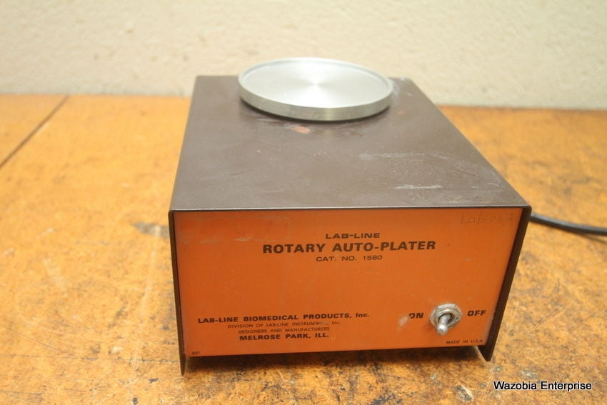 LAB-LINE ROTARY AUTO-PLATER 1580