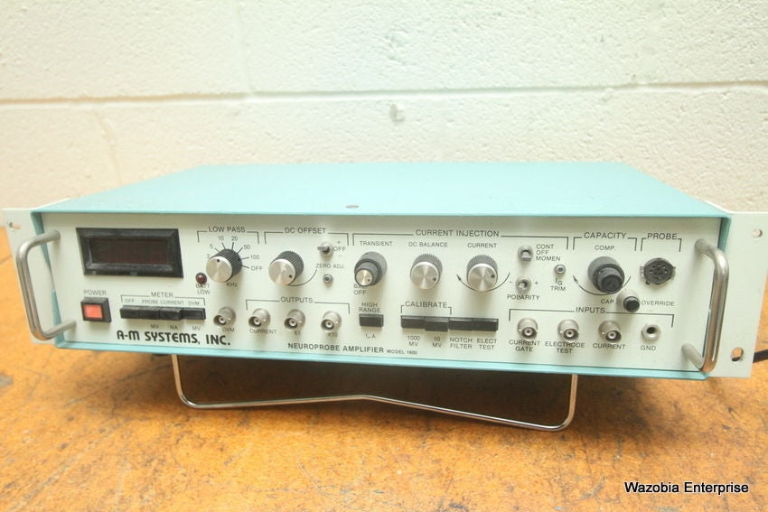 A-M SYSTEMS INC NEUROPROBE AMPLIFIER MODEL 1600