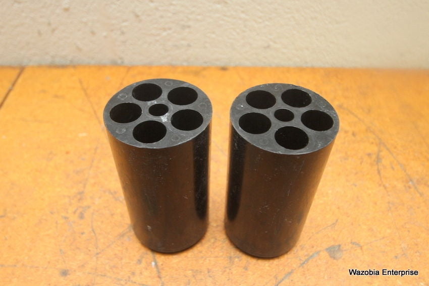 LOT OF 2 CENTRIFUGE SWING ROTOR BUCKET TUBE INSERT