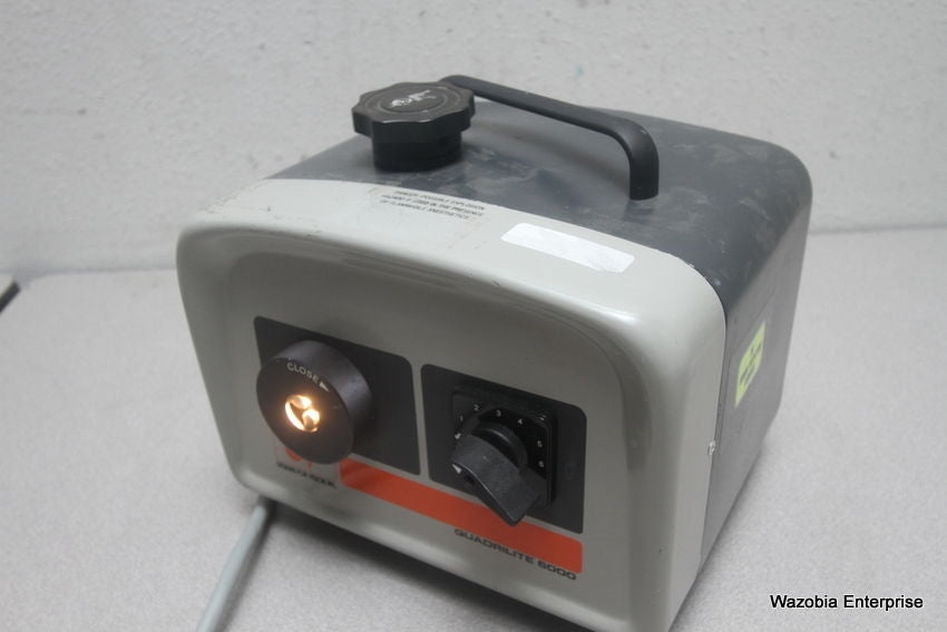 VISION INC QUADRILITE 6000 4000-0999-0019 FIBER OPTIC LIGHT SOURCE