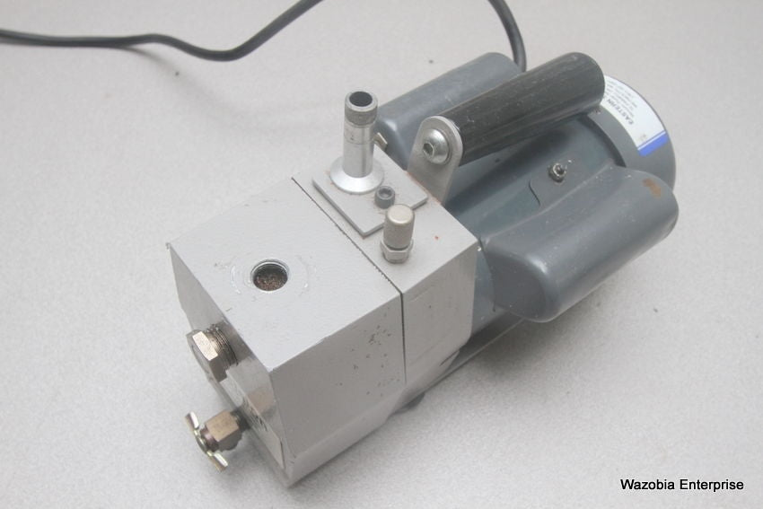 PRECISION VACUUM PUMP MODEL DD 20