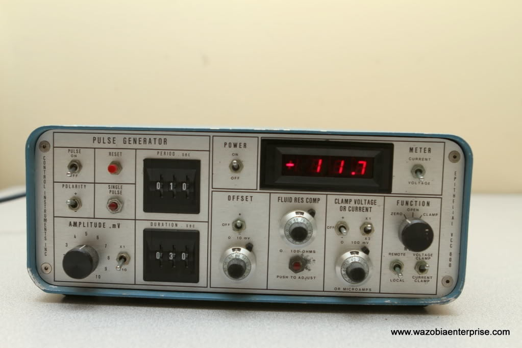 Control Pulse Generator Voltage EPITHELIAL VCC 800