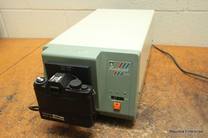 NASCOM COLOR GRAPHICS CAMERA REMBRANDT 3500C SYSTEM MODEL VP-3521 35MM 3500C-C10