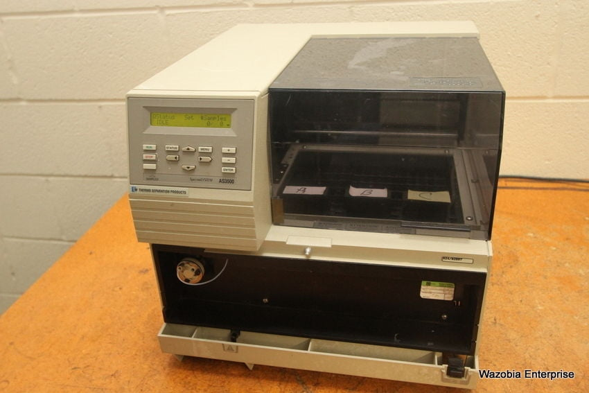 SPECTRA SYSTEM  DIONEX AS3500 INERT VARIABLE-LOOP AUTOSAMPLER WITH COLUMN OVEN