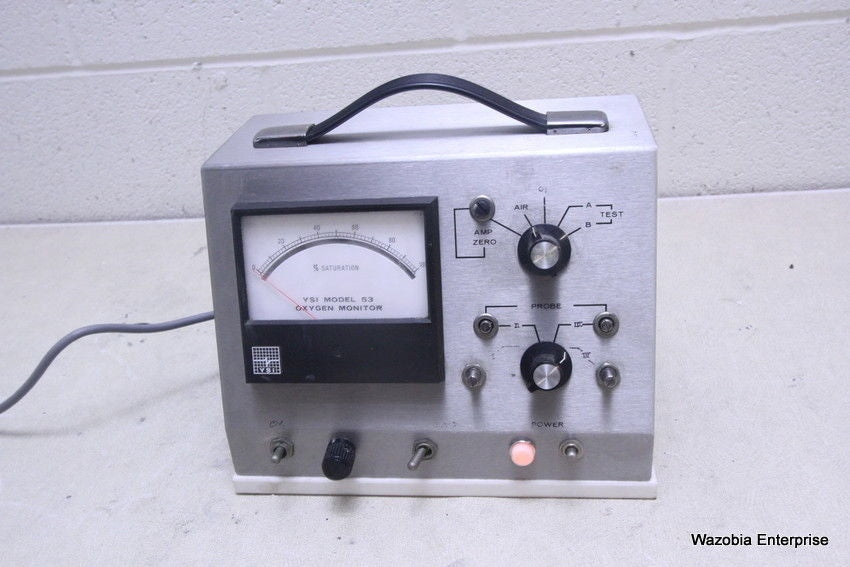 YELLOW SPRINGS INSTRUMENT YSI MODEL 53 OXYGEN MONITOR