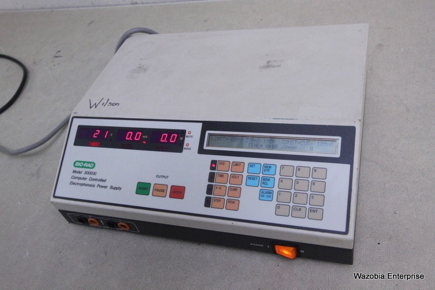 BIO-RAD 3000XI COMPUTER CONTROLLED ELECTROPHORESIS POWER SUPPLY