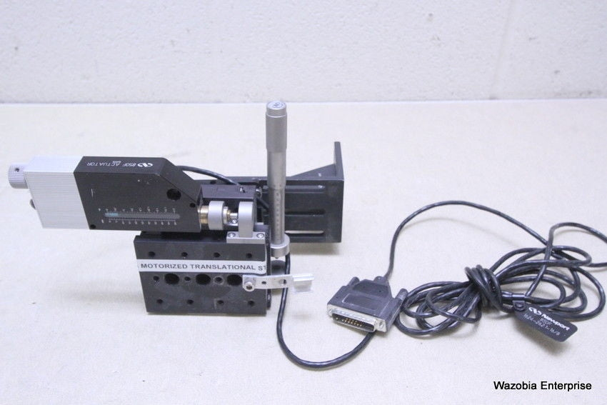 NEWPORT MOTORIZED TRANSLATIONAL TRANSLATION STAGE 433 SERIES 481-A 850F ACTUATOR
