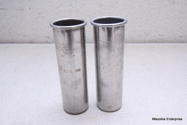LOT OF 2 IEC CENTRIFUGE ROTOR TUBE CAT 305 71.0 GMS