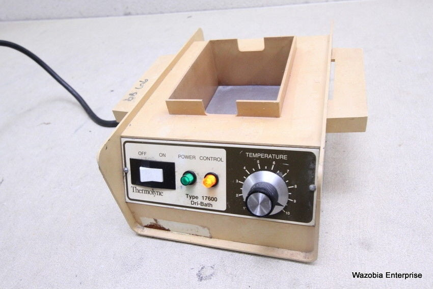 BARNSTEAD THERMOLYNE TYPE 17600  DRI-BATH INCUBATOR DB17615